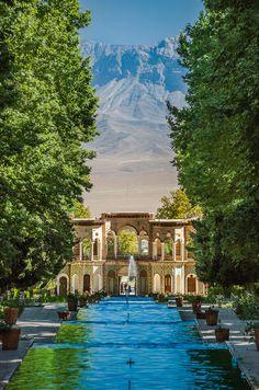 Shazdeh gardens near Mahan, Iran