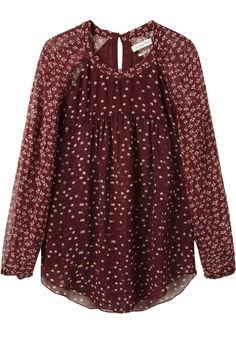 Sweet print, lovely color. Isabel Marant
