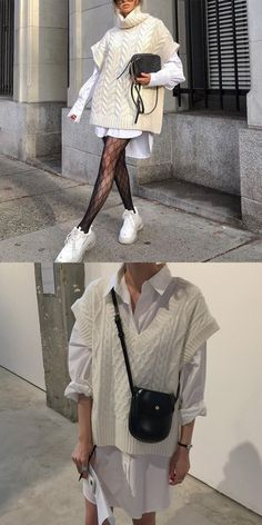 Winter Dress Outfits, Casual Winter Outfits, Knit Fashion, Winter Fashion Outfits, Sweater Fashion, Boho Outfits, Trendy Outfits, Autumn Fashion, Fashion Fashion