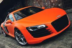 Audi R8 Matte Orange.#Repin By:Pinterest++ for iPad#