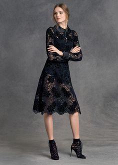 Crochet dress for women winter dolce & gabbana 51 ideas Love Fashion, Womens Fashion, Fashion Design, Travel Fashion, Luxury Fashion, Lace Dress, Dress Up, Parisienne Chic, Business Outfit