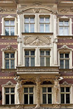 Riga Art nouveau by MiguelP