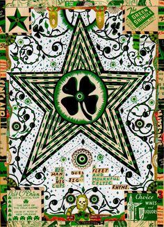 """Star For My Black Irish Heart – included in the essay """"The Luck of the Irish,"""" reprinted with permission from Tony Fitzpatrick"""