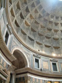 Pantheon - Rome. It took me three days of walking past before I could enter this place. And I was not disappointed.