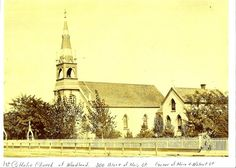 Woodland Catholic Church where Otto C. Hemmers and Teresa Bennett were married. 30 July 1877
