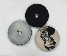 SYDÄN-saippuakuppi | HEART soap dish, stoneware | Sami Rinne Design Online Shop