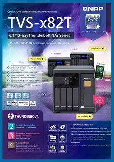 Qnap TVS-x82T combinacion perfecta entre hardware y software