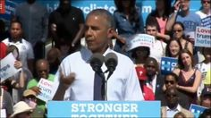 Barack Obama was out stumping for the ailing Hillary Clinton today, but that…