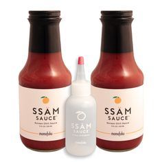 ssäm sauce double + restaurant squeeze bottle