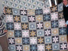 Verena's quilt in revers applique