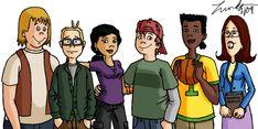 Recess Gang by LindaJV on DeviantArt Recess Cartoon, Cartoon Tv Shows, Cartoon Characters, Cartoon List, Kids Tv Shows, 90s Kids, Nerd Geek, Disney Animation, Disney Cartoons