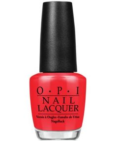 OPI Nail Lacquer, Color So Hot It Berns | macys.com