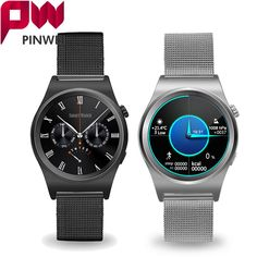 59.99$  Watch here - http://alix6t.worldwells.pw/go.php?t=32718890685 - PINWEI Bluetooth Fully Rounded Smart Watch Supports Heart Rate Monitor Bluetooth Leather Smartwatch For Android 4.3 and IOS 7.0