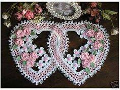 graficos de corações em croche - Pesquisa Google