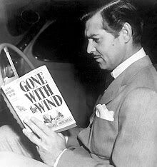 reading Gone With the Wind....