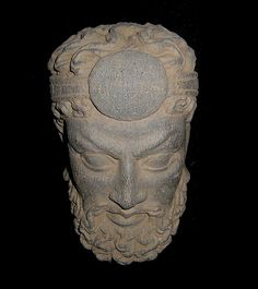 Bactrian Gandhara head Pakistan