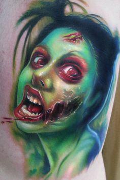 Sexy Zombie Tattoo