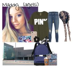"""""""Maddy // 11-6-17 // School ✨💚"""" by dream-familiess ❤ liked on Polyvore featuring J Brand, Converse, Victoria's Secret, Vera Bradley, Kate Spade, Miss Selfridge and TheHubbardFamily"""