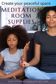 Looking at creating your meditation space at home? Use a variety of meditation room supplies to create the right environment for you! #meditation #homedecor meditation space, meditation room decor, meditation room ideas, spirituality Meditation Kids, Meditation Room Decor, Mindfulness Meditation, Teaching Mindfulness, Mindfulness For Kids, Kids And Parenting, Parenting Hacks, Happy Mom, Yoga For Kids