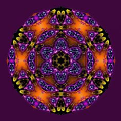 précieux ! precious ! precioso ! Mandala de Pierre Vermersch Digital Drawings
