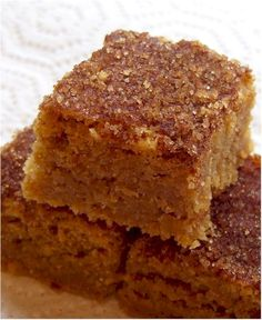 Snickerdoodle Blondies - these were absolutely delicious! (easy too!)
