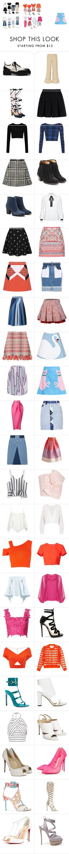 """""""ah"""" by yusufbudiman on Polyvore featuring Mulberry, Gucci, Alexander Wang, WearAll, Jill Stuart, Fiorentini + Baker, Aquatalia by Marvin K., Alice + Olivia, Yumi and Accessorize"""