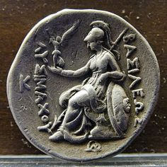 Athena goddess patron of Ancient Athens Greece Greek History, Roman History, Hermes, Athena Goddess, Roman Mythology, A Level Art, Athens Greece, Ancient Greek, Coins
