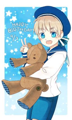 Photo of Happy Birthday Sealand for fans of Hetalia. Happy birthday Sealand!