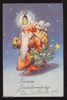 MARTTA WENDELIN Carl Larsson, Christmas Past, Winter Solstice, Old Ones, Vintage Christmas Cards, Scottie, Martini, Finland, Illustrators