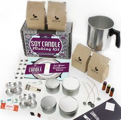 Soy Wax Candles and Candle Making Large Candles, Diy Candles, Tea Light Candles, Scented Candles, Candle Jars, Sand Candles, Candle Maker, Diy Candle Making Kit, Candle Making For Beginners