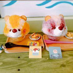 花蓮~浪花丸🌊🌊🌊 熊熊冰🌟🌟🌟 在花蓮市附近逛逛 順便吃午餐 問老闆附近有什麼比較可以消暑的食物 老闆馬上力推浪花丸 白熊冰-紅豆煉乳$85 小熊冰-口味任選$85 超級可愛💗💗💗💗 旁邊會放飛機餅乾和跳跳糖 回憶同年✈✈✈ 價格也很可愛😍😍😍 朋友大推白熊冰🙂… Global Cooling, Cute Pictures, Watermelon, Sweets, Kawaii, Cold, Fruit, Gummi Candy, Candy
