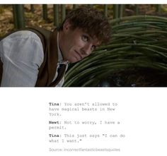 Fantastic Beasts And Where To Find Them/Parks and Recreation