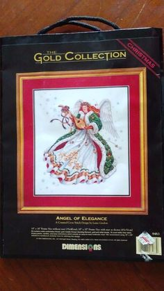 New Dimensions Gold Collection Counted Cross Stitch Kit Angel of Elegance 8463 #Dimensions