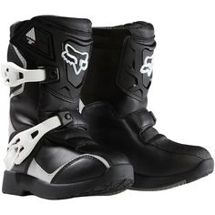 2018 Fox Racing Kids Comp Color: Black/Silver Size: 11 Fox Racing Pee Wee Comp Off-Road/Dirt Bike Motorcycle Boots for Youth Boys 2013 Model Atv Boots, Dirt Bike Boots, Bike Shoes, Motorcycle Boots, Fox Racing, New Dirt Bikes, Dirt Bikes For Kids, Kids Dirt Bike Gear, Toddler Boots