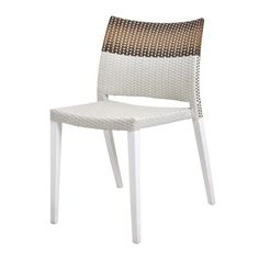 Harbour Chair in Brown and White