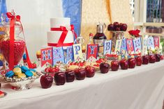 Snow White Dessert Table