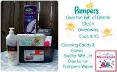 Gentle Spring Cleaning Giveaway Event - ends 4/15 #PampersWipes #DDDivas