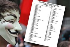 """Toxic Food Master List Of Monsanto Influenced """"Food"""" Producers : Healthy Holistic Living - Here is a simple, printable list of companies that use Monsanto products. Healthy Holistic Living, Holistic Nutrition, Nutrition Plans, Health And Nutrition, Health And Wellness, Healthy Living, Gut Health, Nutrition Guide, Health Fitness"""