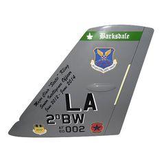 2 BW B-52H Tail Flash