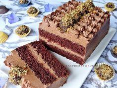 Czech Desserts, Desert Recipes, Nutella, Chocolate Cake, Tiramisu, Cake Recipes, Deserts, Food And Drink, Sweets