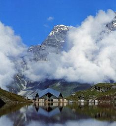 Stunning Beauty of Hemkund Sahib [Near Kedarnath, Ghangaria and The Valley-of-Flower in the Nanda-Devi Bio-sphere Reserve], Uttarkhand, India.