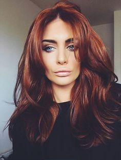 74 Natural Ginger Copper Hair Color Styles For 2019 - Coiffure Sites Hair Color Balayage, Hair Highlights, Brown Balayage, Copper Balayage, Copper Highlights, Ombre Brown, Blonde Ombre, Auburn Brown, Reddish Brown