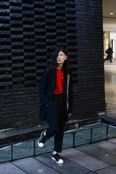ストリートスナップ大阪 - 吉村 兼一さん - adidas, COMME des GARÇONS, TTT, Yohji Yamamoto, アディダス, ヨウジヤマモト
