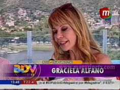 """Graciela Alfano: """"Para estar bien hay que comer sano"""""""