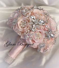 Captivating Choosing Your Wedding Flowers Ideas. Remarkable Choosing Your Wedding Flowers Ideas. Wedding Brooch Bouquets, Bride Bouquets, Bridesmaid Bouquets, Wedding Flower Arrangements, Wedding Flowers, Wedding Centerpieces, Blue Centerpieces, Tall Centerpiece, Floral Arrangements