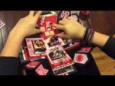 Explosion Box for Boyfriend (Valentine's Day/Anniversary Theme) - YouTube