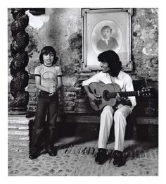 Potito y su papa Changuito - Flamenco by Gilles Larrain