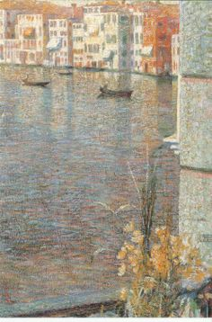 Canal Grande by Umberto Boccioni#EasyNip