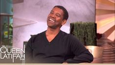 """Denzel Does """"Jay-Z"""" on The Queen Latifah Show"""