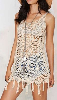Crochet; el tejido de moda - Mujer Chic